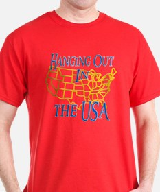 Hanging Out in the USA T-Shirt