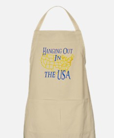 Hanging Out in the USA Apron
