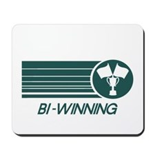 Charlie Sheen Bi-Winning Mousepad