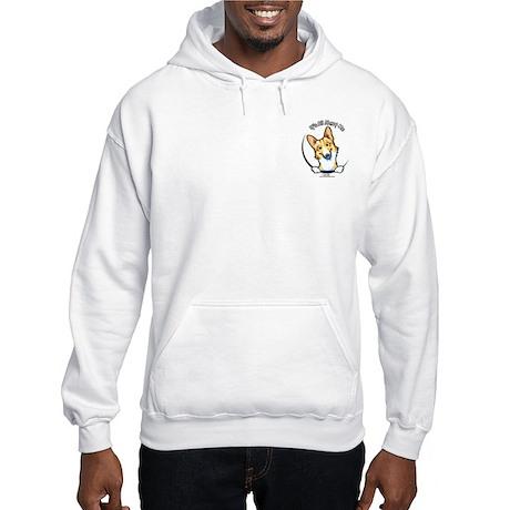 Fawn Corgi IAAM Pocket Hooded Sweatshirt