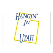 Hangin' in Utah Postcards (Package of 8)