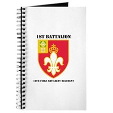 DUI - 1st Bn - 12th FA Regt with Text Journal