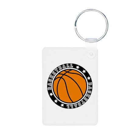 Basketball Aluminum Photo Keychain