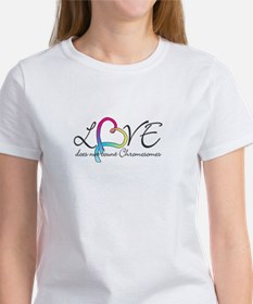 Rainbow Love doesn't count Ch Women's T-Shirt