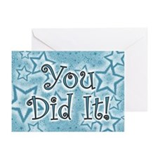 You did it! Greeting Cards (Pk of 20)
