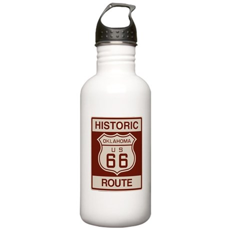 Oklahoma Route 66 Stainless Water Bottle 1.0L