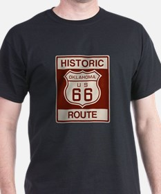 Oklahoma Route 66 T-Shirt