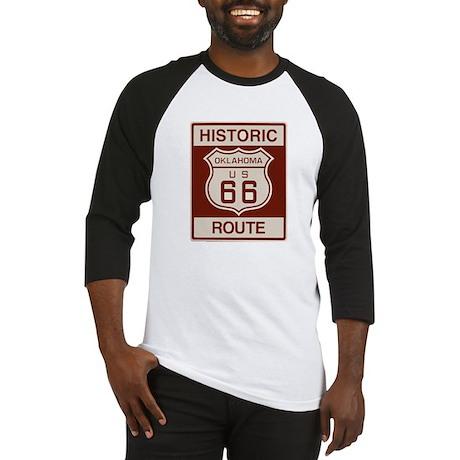 Oklahoma Route 66 Baseball Jersey