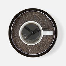 The Coffee Bean Wall Clock