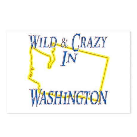 Wild & Crazy in WA Postcards (Package of 8)