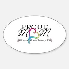 Proud mom of T13 angel Decal