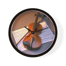 Violin Wall Clock