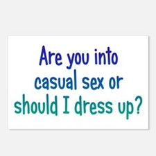 Casual Sex? Postcards (Package of 8)