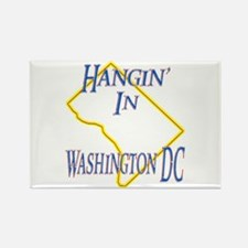 Hangin' in DC Rectangle Magnet