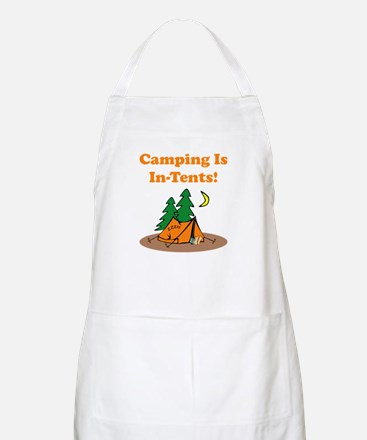 Camping Is In-Tents! Apron