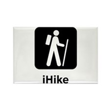 iHike Rectangle Magnet