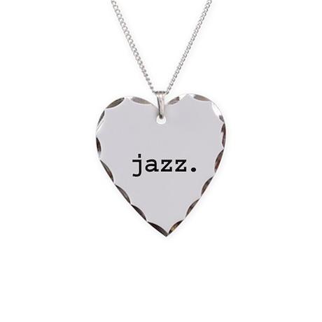 jazz. Necklace Heart Charm