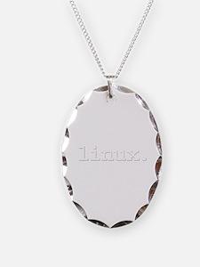 linux. Necklace