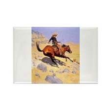 Cowboy Rectangle Magnet