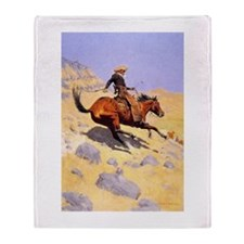 Cowboy Throw Blanket
