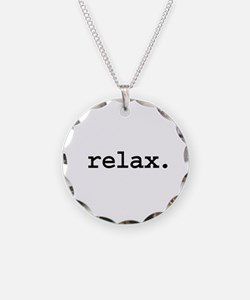 relax. Necklace