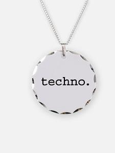 techno. Necklace