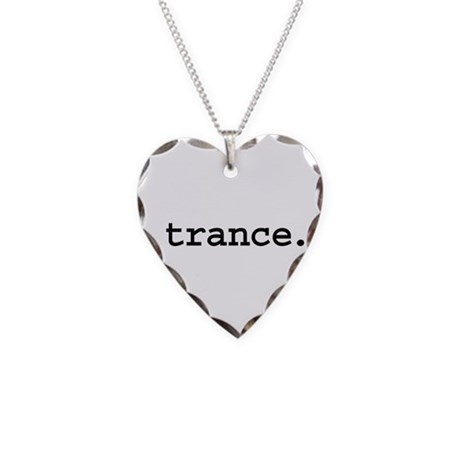 trance. Necklace Heart Charm