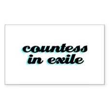 Countess In Exile Decal