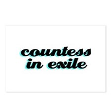 Countess In Exile Postcards (Package of 8)
