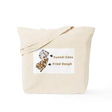 NJ Funnel Cake vs. Fried Doug Tote Bag