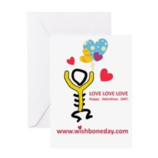 Love@Wishbone Day Greeting Card