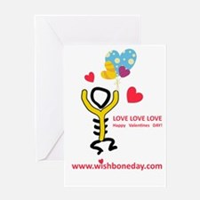 Love@Wishbone Day Greeting Card