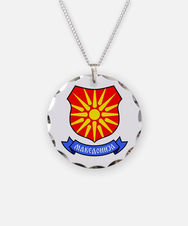 Necklace Macedonia Ray Crest