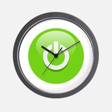 Power On! Wall Clock
