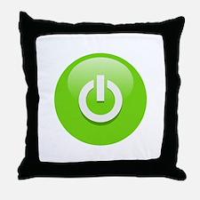 Power On! Throw Pillow