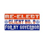 Re-Elect Client No. 9 Aluminum License Plate