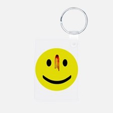 Dead Smiley Keychains