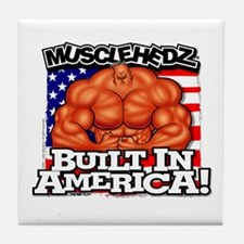Built In America! - Tile Coaster