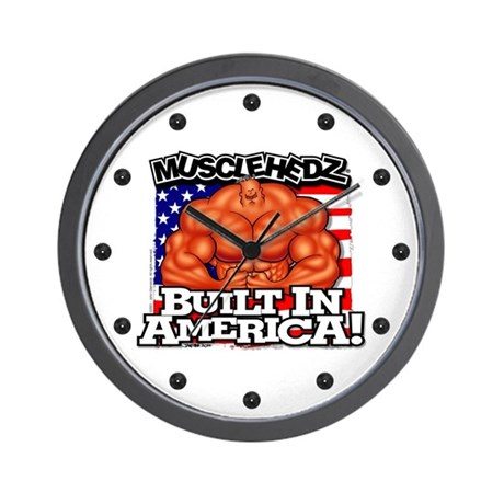 Built In America Wall Clock