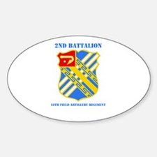 DUI - 2nd Bn - 18th FA Regt with Text Decal