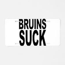 Bruins Suck Aluminum License Plate
