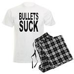 Bullets Suck Men's Light Pajamas