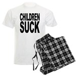 Children Suck Men's Light Pajamas