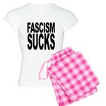 Fascism Sucks Women's Light Pajamas