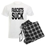 Fascists Suck Men's Light Pajamas