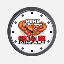 Pure CANADIAN Muscle! - Wall Clock