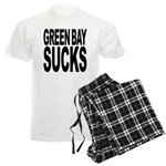 Green Bay Sucks Men's Light Pajamas