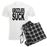 Grizzlies Suck Men's Light Pajamas
