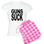 Guns Suck Women's Light Pajamas