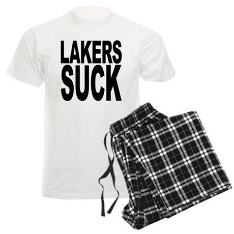 Lakers Suck Men's Light Pajamas